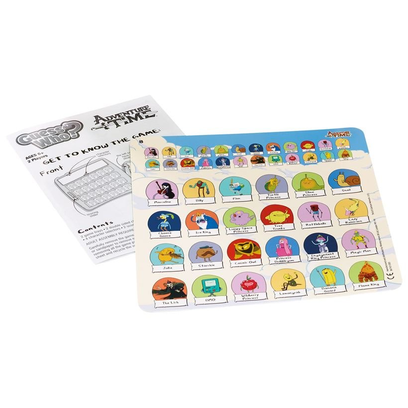 Adventure Time Guess Who Board Game