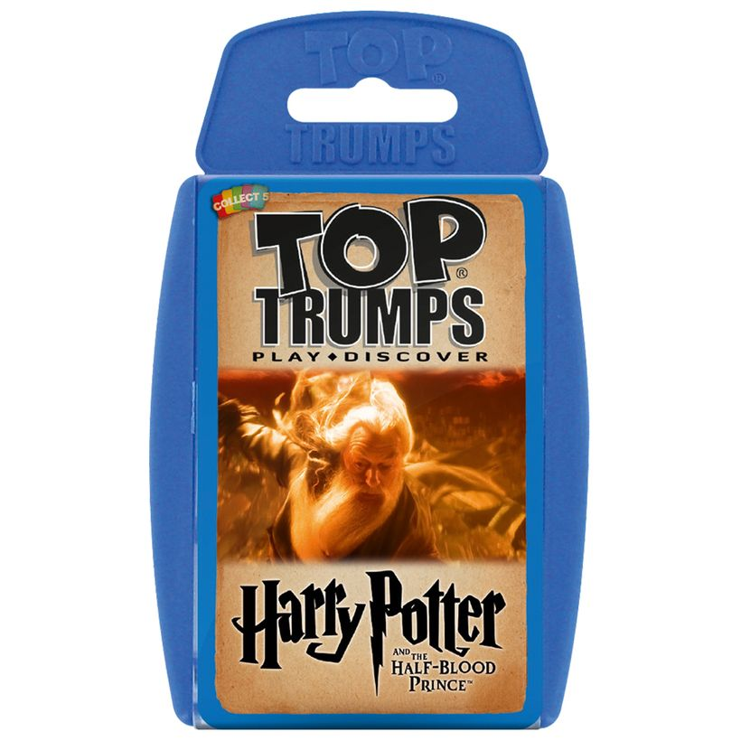 Spielzeug Harry Potter And The Half Blood Prince Top Trumps