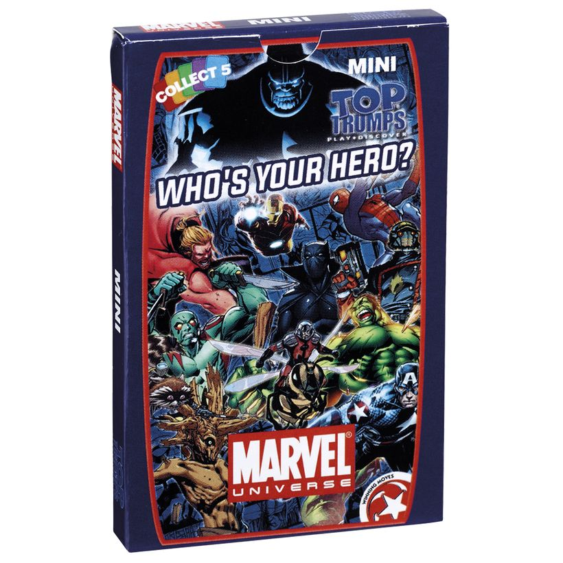 Marvel Universe Top Trumps Minis Card Game