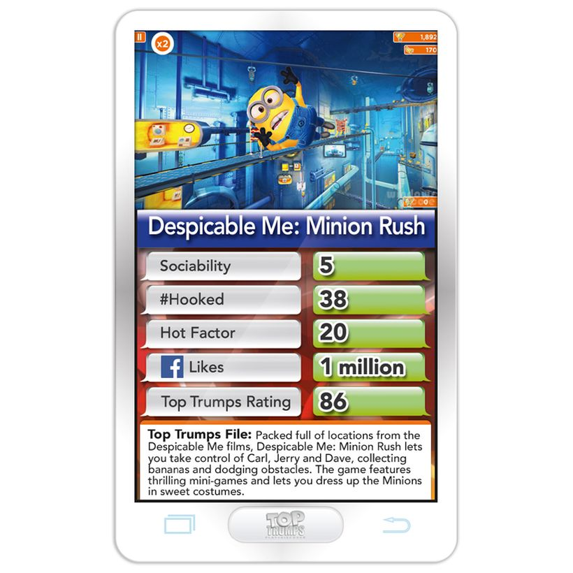 Top Trumps Rules >> Hottest Top 30 Apps Top Trumps Card Game