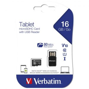 Tablet Micro SD Card with USB Card Reader